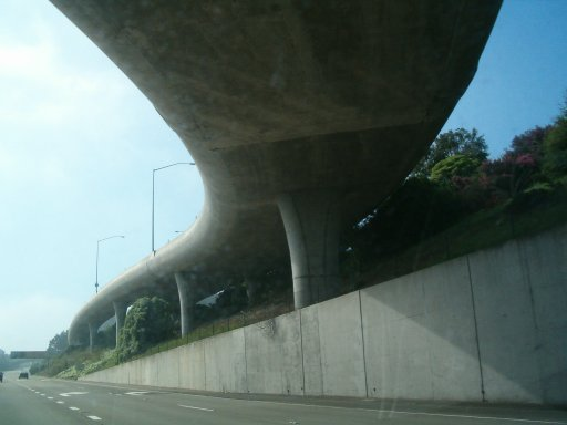 Off-ramp exit of I-280 in San Francisco