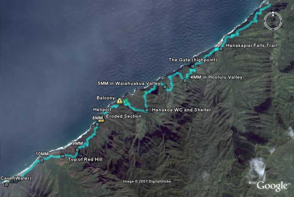Kalalau Trail Map | A Kauai Blog on kauai tour maps, kauai county parks, kauai beach map, kauai relief map, kauai points of interest map, kauai county map, kauai hunting map, kauai waterfall map, honopu ridge trail map, kauai cities map, kauai snorkeling spots, kauai snorkeling map, kauai tourist map, kauai scuba diving, kauai kayaking, kauai topographical map, kauai falls, kauai road map, kauai activities, princeville kauai map,
