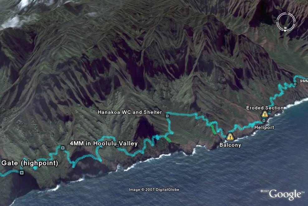 Kalalau Trail Map   A Kauai Blog on pali mountain map, fall creek state park map, barking sands base map, maui hike map, diamond head hike map, pali highway map, kalalau trail map, havasupai hike map, kalalau beach map, kauai waterfall map, waimea canyon trail map, georgia state map, kauai satellite map, kauai snorkeling map, kalalau hike map, mauna kea summit hike map, hanakapiai beach map, napali hike map, nw coast trail map, wailua falls kauai map,
