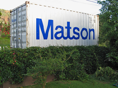Sad sad news a kauai blog - Matson container homes ...