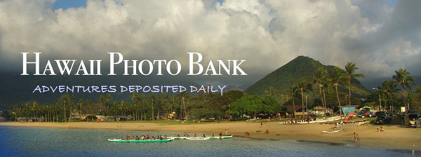 Masthead of the Hawaii Photo Bank blog